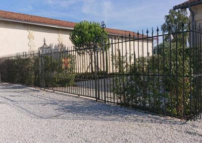 Grilles & Portail de Château